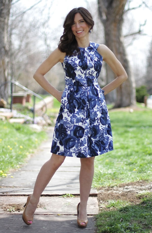 Favorite look of Ana form her Mrs. American Made blog #1 | 40plusstyle.com
