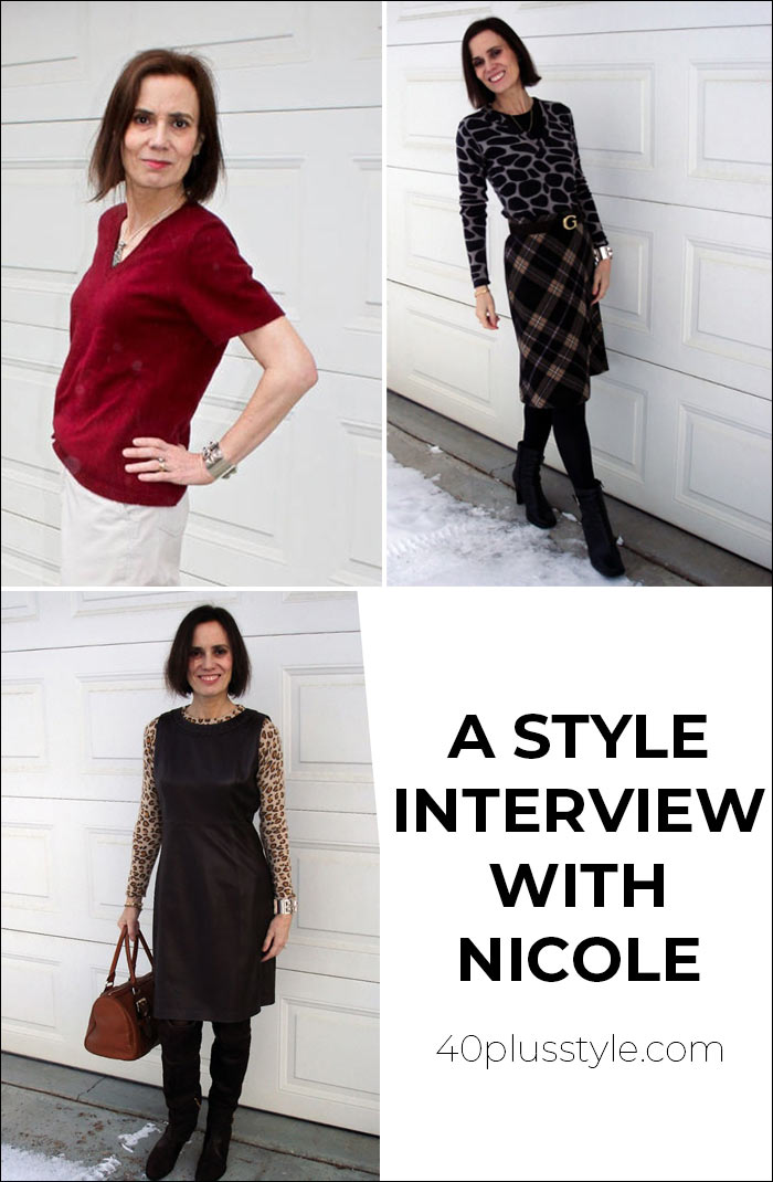 A style interview with Nicole | 40plusstyle.com