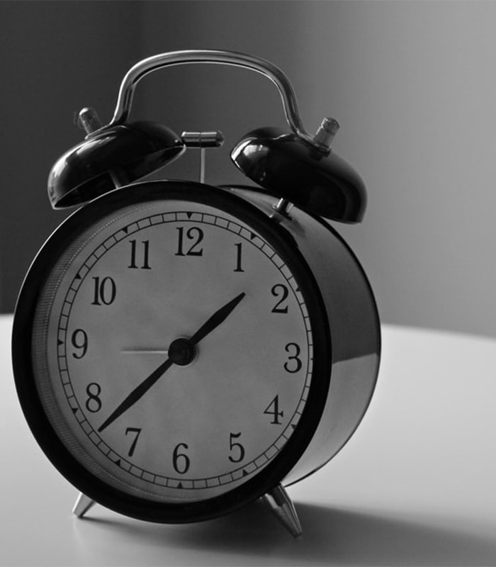 How can a punctual person be always late all of a sudden?