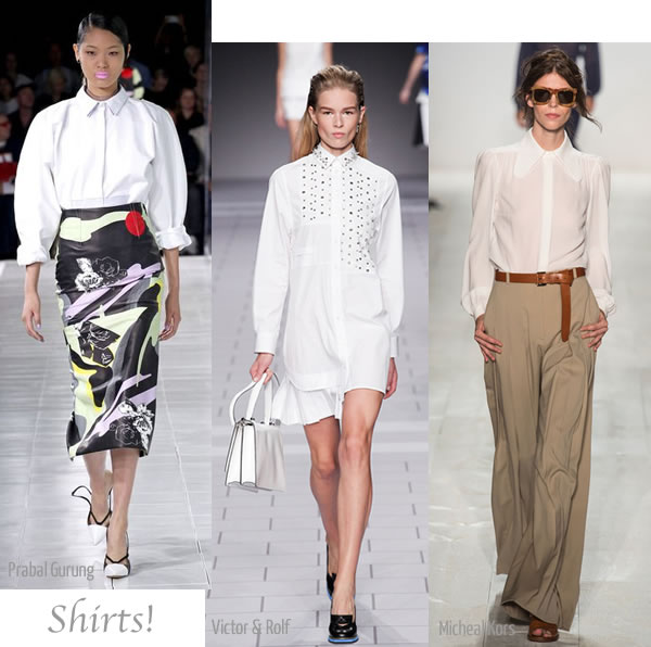 2013 spring trends: button down shirts | 40PlusStyle