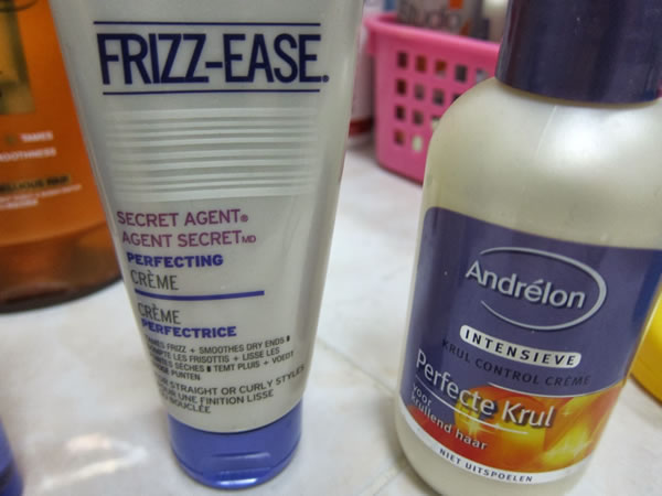 Products to manage frizzy hair