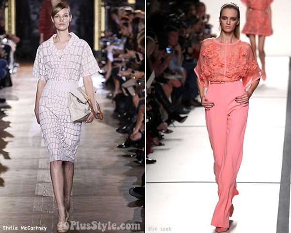 Monochromatic pastel looks for spring 2014   40PlusStyle.com