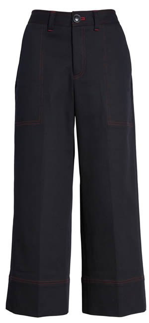 best cropped wide pants