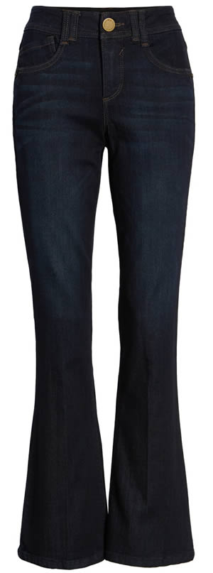 Wit & Wisdom bootcut jeans | 40plusstyle.com