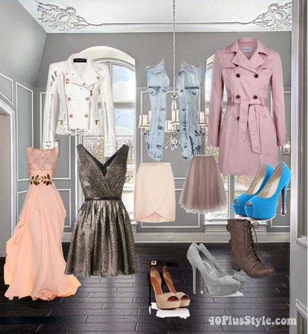 elegant in pastels   40PlusStyle.com