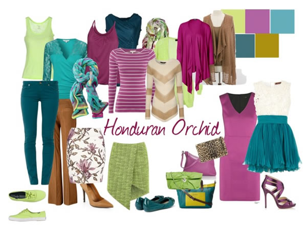 How to wear radiant orchid - honduran Orchid | 40PlusStyle.com