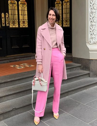 How to wear pink | 40plusstyle.com