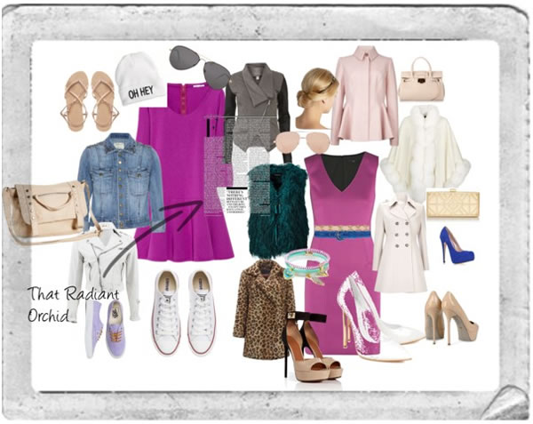 wearing radiant orchid with elegance and ease | 40PlusStyle.com