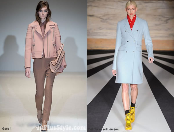 pastel trends for fall 2014   40PlusStyle.com