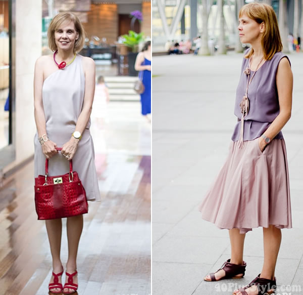 soft pink pastels | How to wear pastels | 40PlusStyle.com
