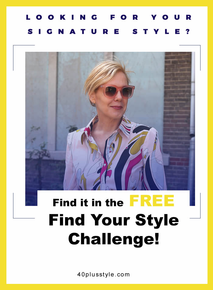 Join the Find Your Style Challenge!   40plusstyle.com