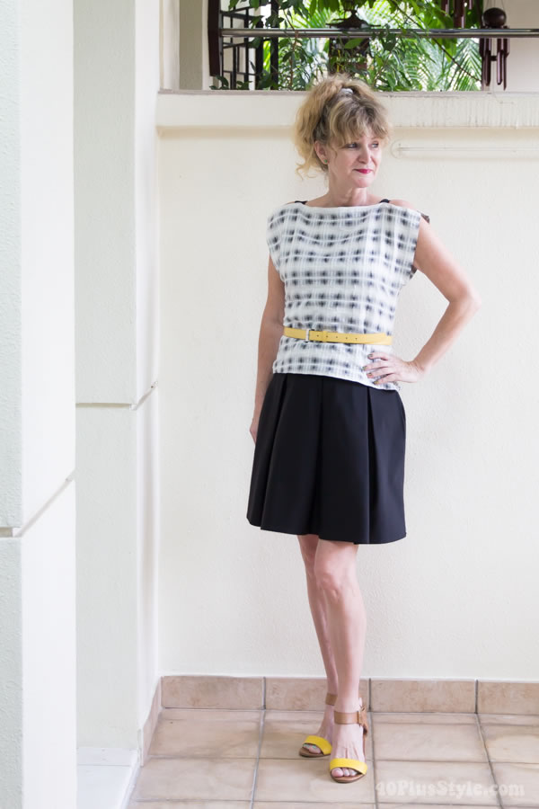 How does it feel to wear someone else's clothes? | 40PlusStyle.com