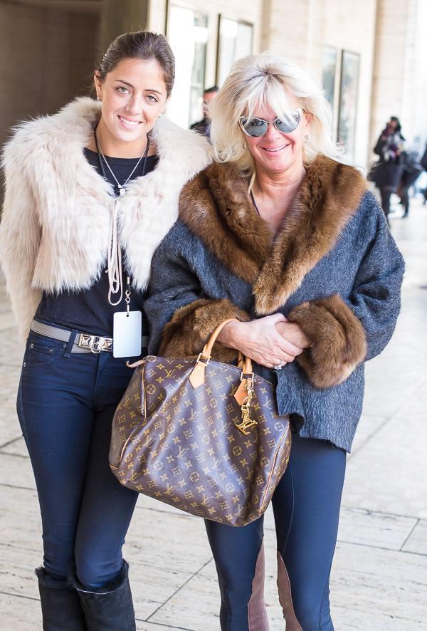 Rocking the skinnies |  Having twice the fun at New York Fashion Week | 40plusstyle.com