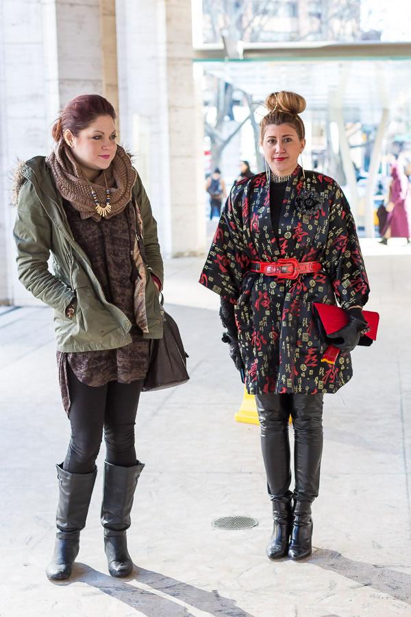 Having twice the fun at New York Fashion Week | 40plusstyle.com