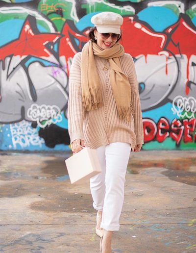 How to wear beige | 40plusstyle.com