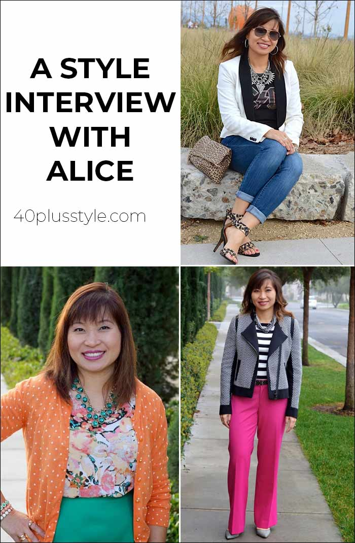 A style interview with Alice | 40plusstyle.com