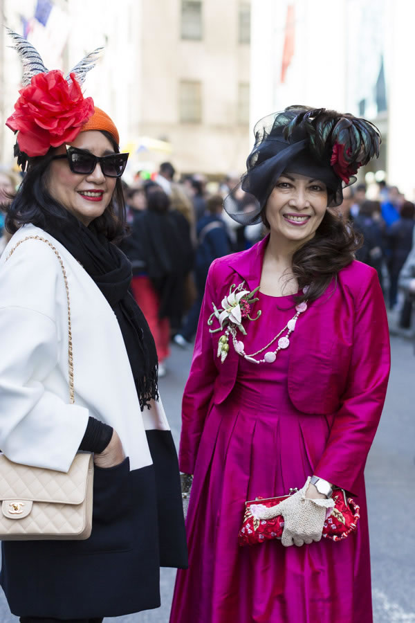 Extraordinary style at the New York 5th Avenue Easter Parade   40plusstyle.com