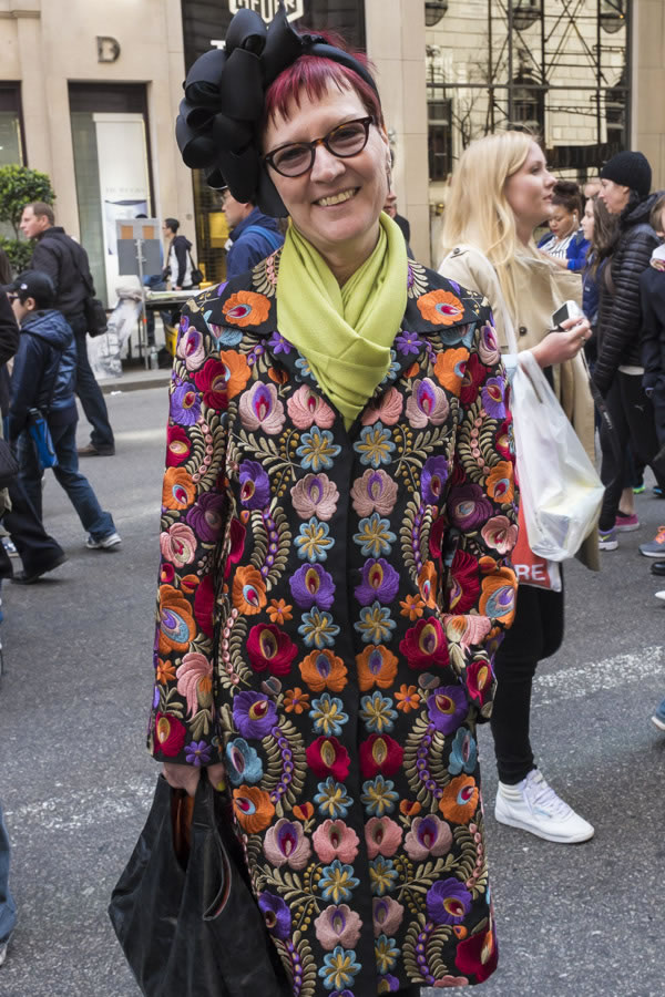 Colorful flower jacket   40plusstyle.com