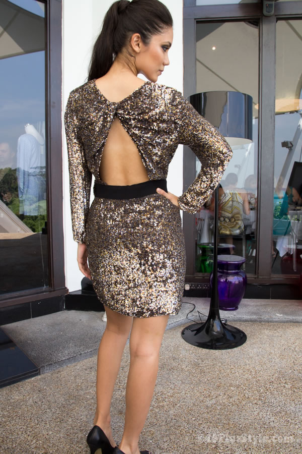 Sexy sparkles dress