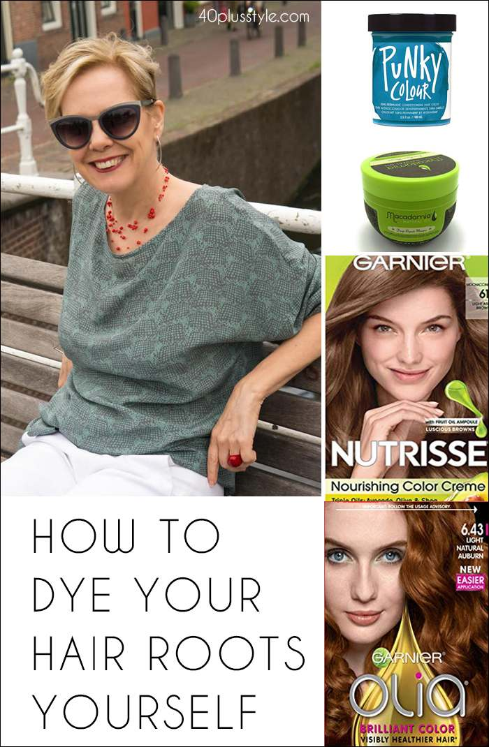 How to dye your hair roots yourself | fashion over 40 | style | fashion | 40plusstyle.com