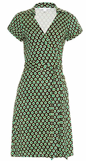 Classic DVF wrap dress   40plusstyle.com