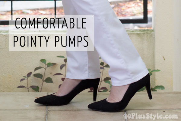 Comfortable pumps by Rockfort | 40plusstyle.com