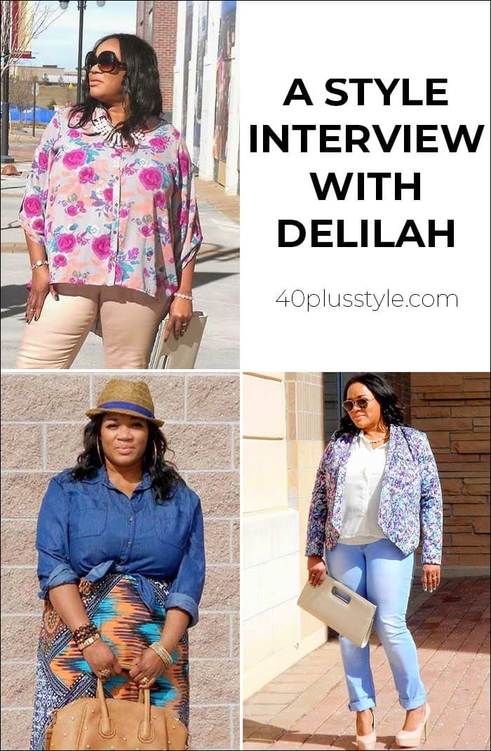 A style interview with Delilah | 40plusstyle.com