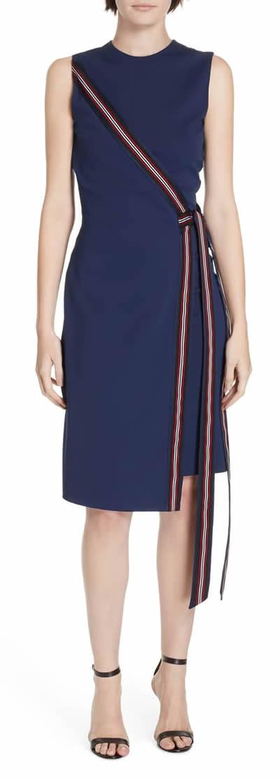 DVF faux wrap dress   40plusstyle.com
