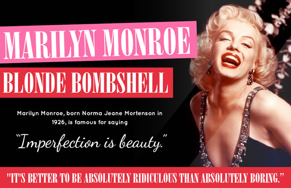 Celebrating style icon Marilyn Monroe | 40plusstyle.com