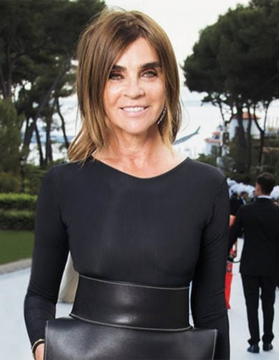 How to get Carine Roitfeld style   40plusstyle.com