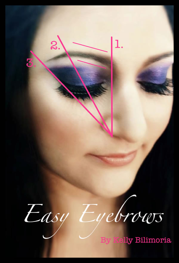 How To Get Fabulous Eyebrows Map Your Eyebrows