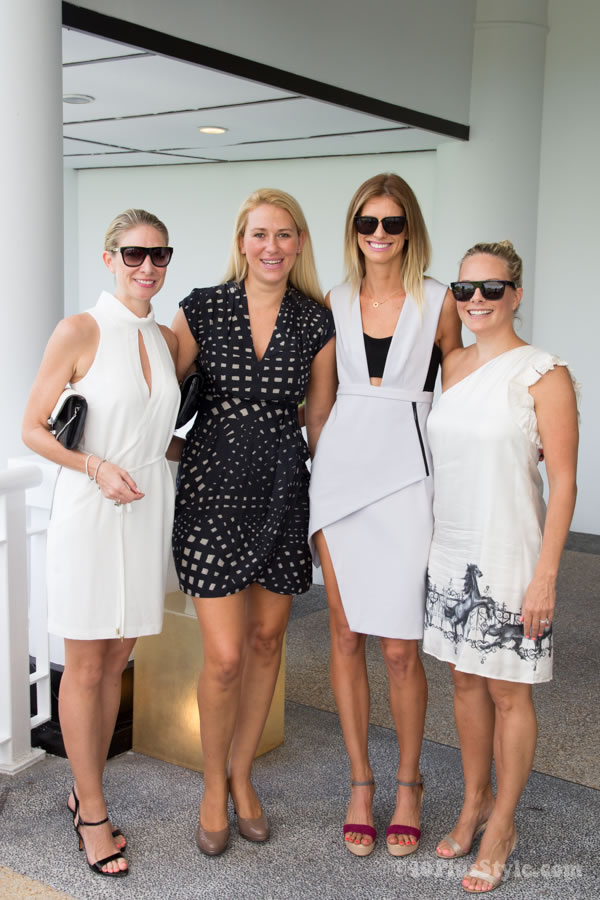 black and white dresses for a fashion lunch | 40plusstyle.com