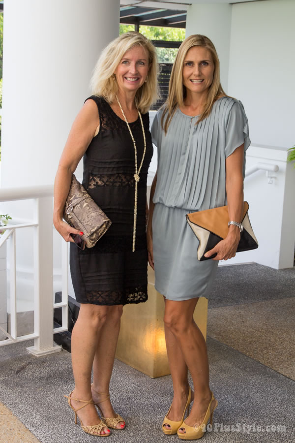 Neutral Dresses As Worn During A Singapore Fashion Lunch