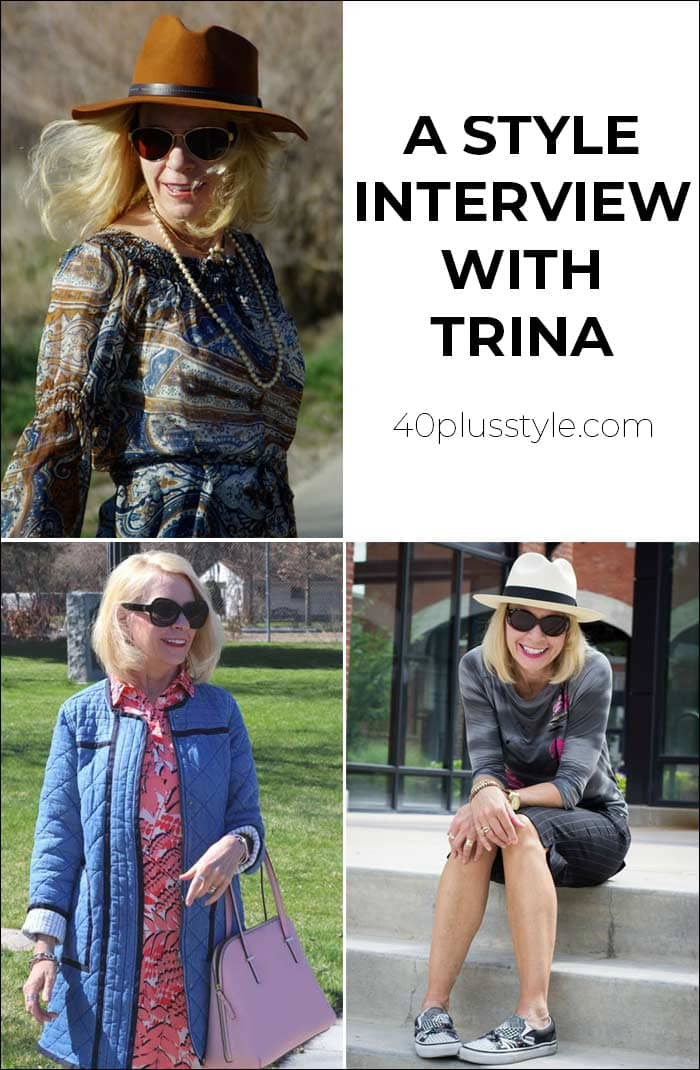 A style interview with Trina | 40plusstyle.com