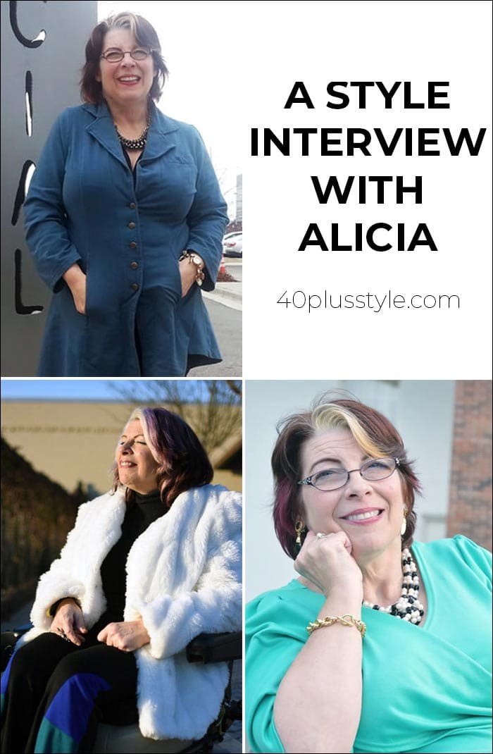 A style interview with Alicia | 40plusstyle.com