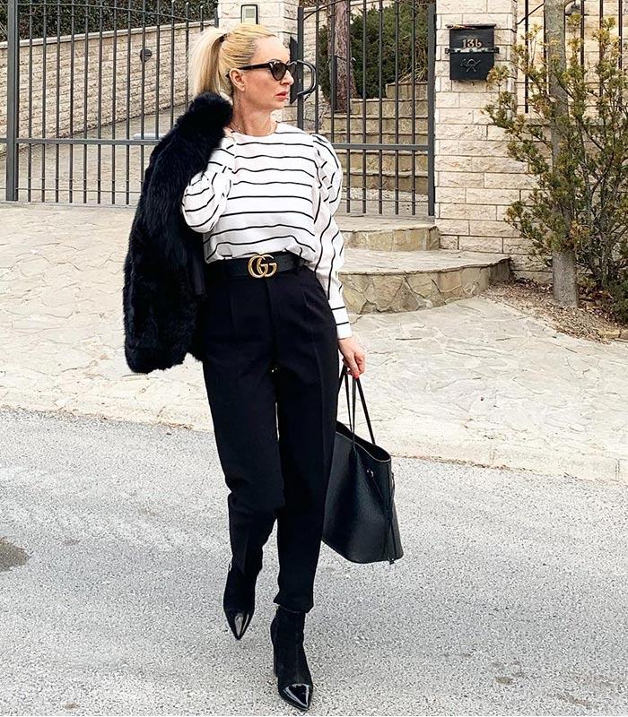 Black and white outfits – Discover how to best wear this popular color combination in 60+ outfits!