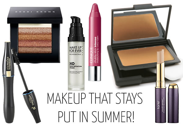 Makeup that stays put in summer | 40plusstyle.com