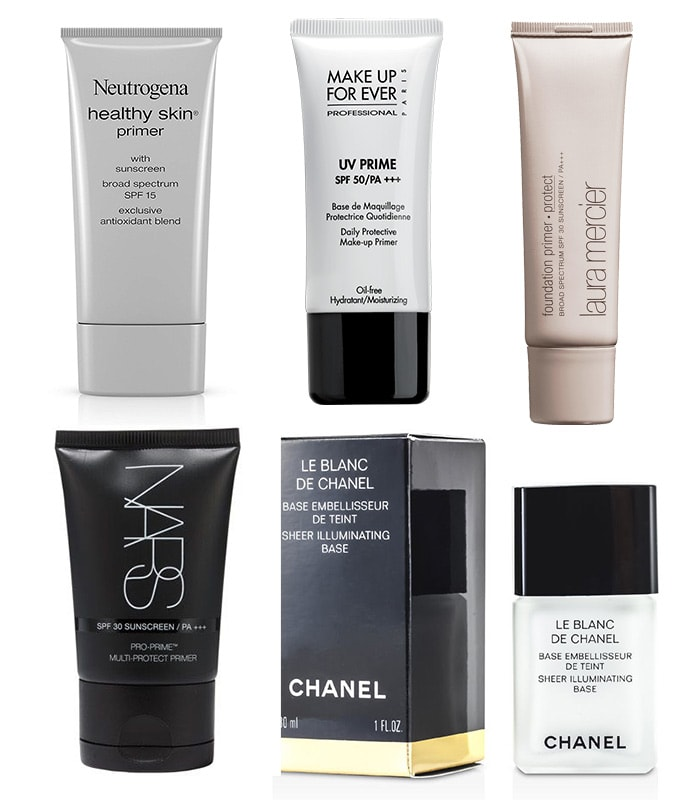 Foundations With Spf Protection