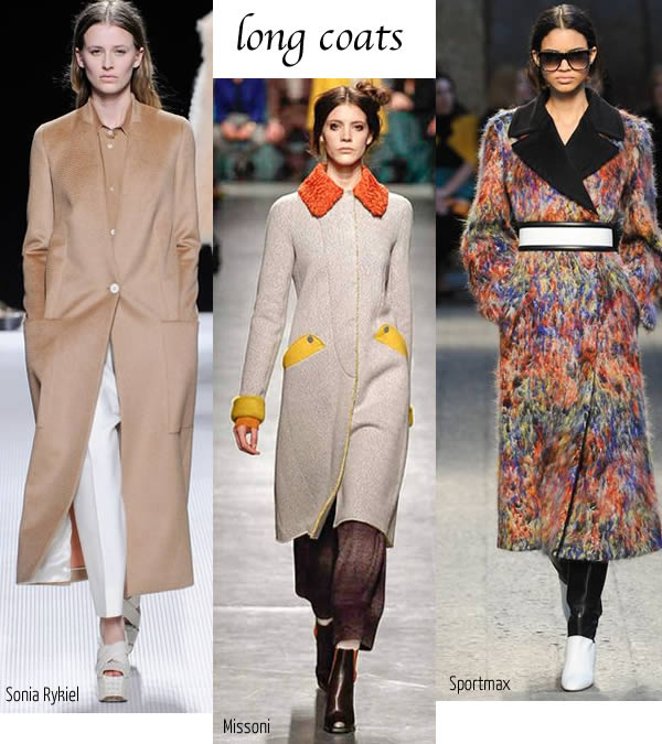 The 2014 fall best fashion trends for women over 40 - Long coats   40plusstyle.com