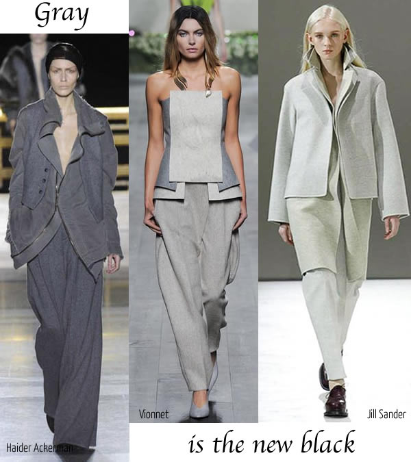 Best fall trends for women over 40 - Gray   40plusstyle.com