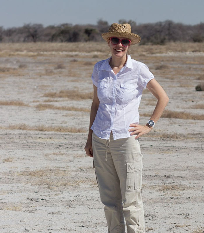 A safari through Etosha Park in Namibia and what I wore