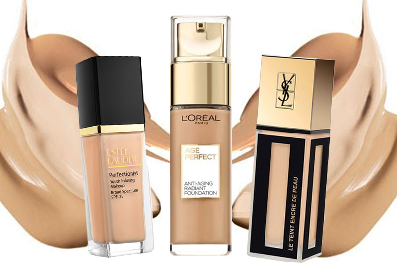 Best dewy foundation for older skin