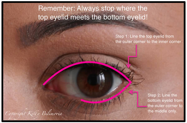 How to apply eyeliner after 40 | 40plusstyle.com
