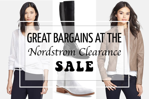 Post image for Great bargains at the Nordstrom Clearance sale – here are my favorites!