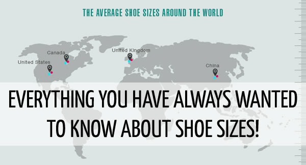 What is the average shoe size and how happy are you with your's?