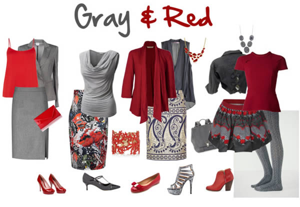 combinationsofgrayandred