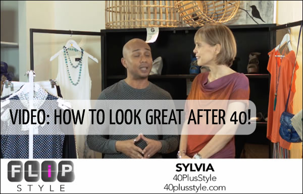 How to look great after 40 | 40plusstyle.com
