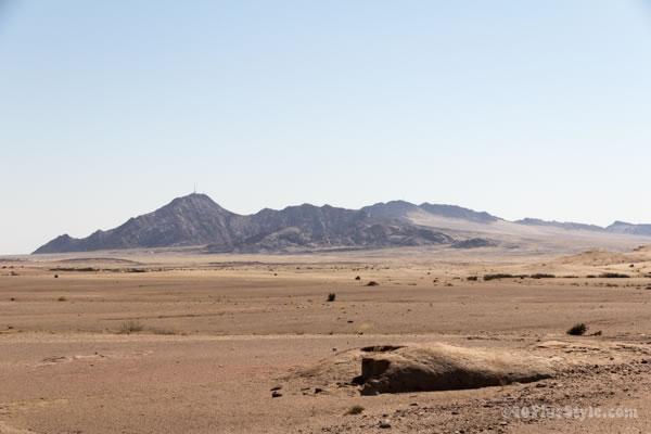 Scenery of the Namib desert | 40plusstyle.com