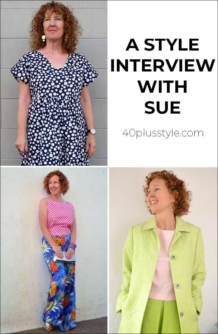 A style interview with Sue | 40plusstyle.com