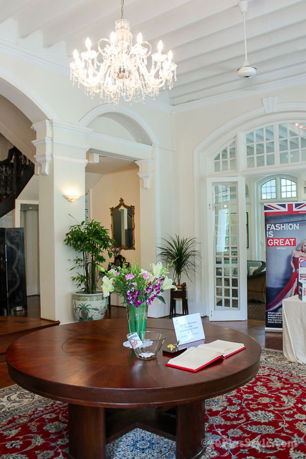 Eden Hall - residence of the British High Commissioner to Singapore   40plusstyle.com